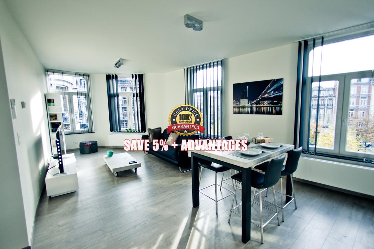 Les suites de nanesse officiel appart hotel li ge centre for Appart hotel 95